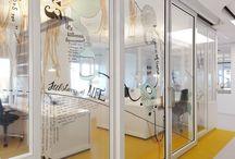 Signalétique & Décoration de bureaux