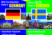With Free Education in Germany, Without IELTS in Sweden