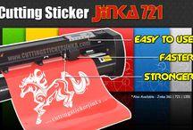 Cutting sticker JINKA 721