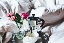 Breakfast in bed / by Michelle Dyer