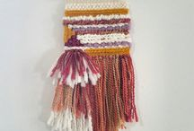 Woven Wall Hangings by MossHound Designs