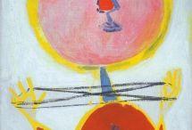 ANNA MARGIT / expresszionista, szürreális és szimbolista festészetében a bábutematika egyedülálló
