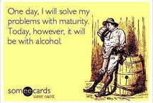 Alcohol related humor ( work)