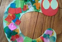 The Very Hungry Caterpillar Crafts