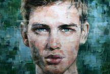 retratos dibujo- drawing portraits