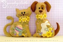 Cani di stoffa