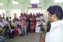 AISMK President giving the Land Patta Papers to the Public
