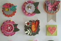 Koristeet / Embellishments / Card candy
