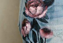 pittura su vestiti