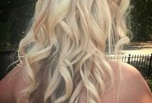 Hairstyles. / Hairstyles and make upes
