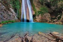 Mystic Waterfalls / Breathtaking view of Greek waterfalls