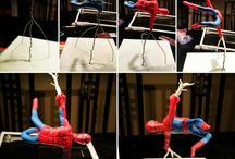 Spiderman Fondant