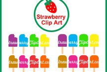 Strawberry Clip Art / by New England Quilter