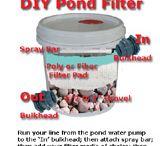 DIY:- pond ideas