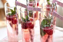 Eten en drinken Bruiloft