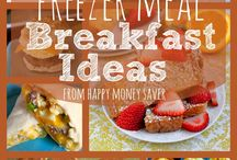 Freezer breakfast meals