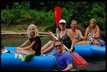 Rafting @ Huzzah Valley / Pictures of people having fun on the Huzzah River.