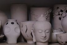 Taller de Cerámica ¨HUELLAS DE AGUA¨ / Cursos de cerámica y producción de piezas propias, de diseño y de autor.