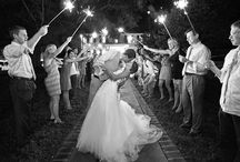 {wedding sparklers}