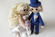 Y Crochet Bride and Groom Wedding / Wedding Crochet Bride and Groom / by LittleOwlsHut