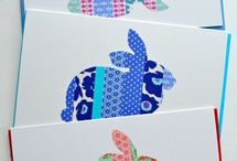 Die cut card ideas / Cards made using die cutting and / or punches.