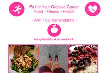 Fit for your Creative Career /  #stayfitwithfcc-karrierefabrik