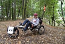 KrakowKetts Recumbent Bike Hire  / We are the only recumbent cycle hire company in Kraków Poland, we also provide equipment to adapt our trikes to enable people with limited mobility to ride