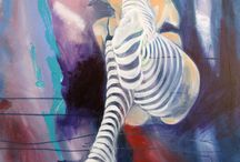 Figure Abstraction / Figure abstraction paintings by artist Nancy L Moore / by Nancy L Moore