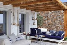 Summer house verandas