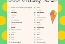Creative Art Challenges