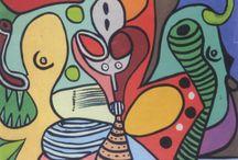 Francois Thango (1936-1981) / Art from Congo-Brazzaville.