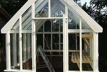 Wooden greenhouses