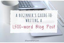 Blog: tips & tricks