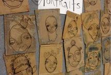Arty portraits