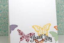 Craft Inspo - Papillon Potpourri / Crafts with Stamps of Stampin' Up!