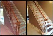 Before & After Projects / These are before and after photos of recent construction projects that I have built.