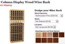 Pine Wine Racks by Coastal Custom Wine Racks / Coastal Custom Wine Cellars 26222 Paseo Toscana San Juan Capistrano, CA 92675 California Office: +1 (949) 355-4376