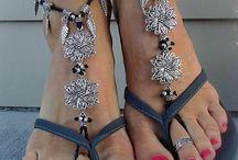 barefoot sandel