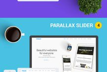 One Page HTML5 Template / Find Best One Page Design #onepage