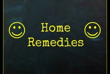 Home Remedies / Where we show home-made cleaning alternatives.