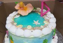 Flamingo Cakes