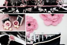 Weddings - Pink and Black / by Oh Buttercup Events