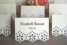 Wedding Placecards / Wedding placecards
