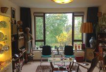 interieur met fifties elementen / Inrichting van ons interieur met de inspiratie van 1955-1965