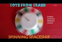 Spinning space ship