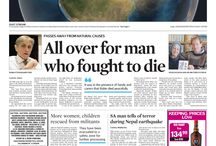 Front pages - May 2015 / News