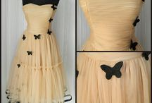 Tulle, Embroiery and Lace / fashion design