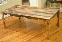 Top Pallet Table ideas / Create your own Pallet Table, fly your imagination! Check out more designs at www.yourpallettable.com