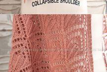 Pletené šály