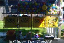 Backyard Ideas / by Sara Cline